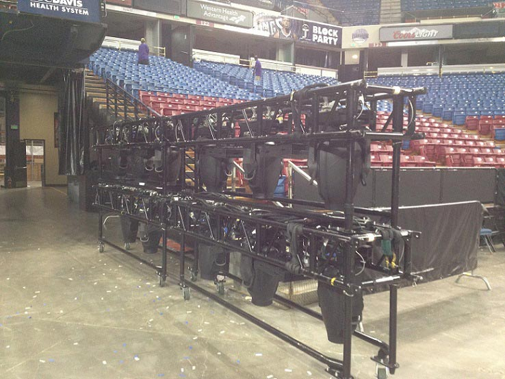 Rigging, Motors, and Truss Rentals - Complete Production