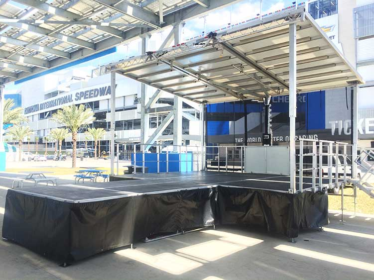Mobile Staging Equipment & Mobile Stage Rentals for Event Production